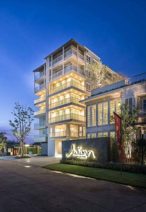 Hua Hin Autumn Condo only 200metres from the beach