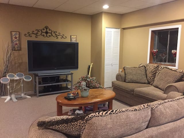 Naperville - Private Finished Basement