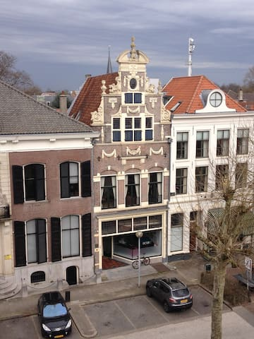 Old Center,double bed,roof terrace - Deventer - Maison