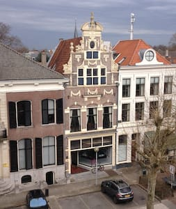 Old Center,double bed,roof terrace - Deventer - Ev