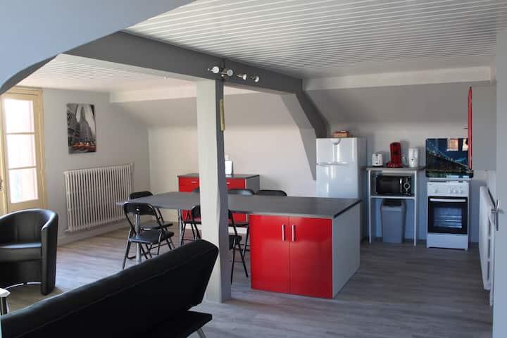 Chambres à louer dans logement indépendant.
