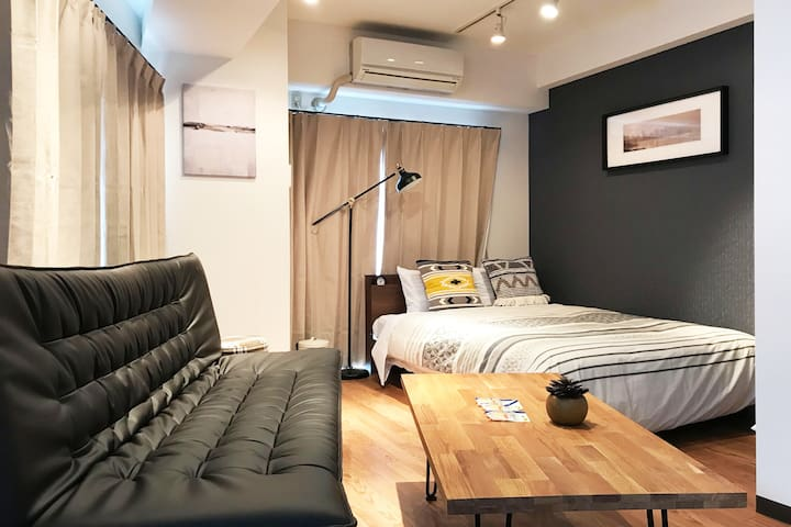 8min walk to Shibuya!! Simple modern Studio☆#305