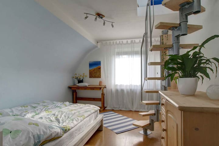 Maisonette apartment betw. CNG/DUS