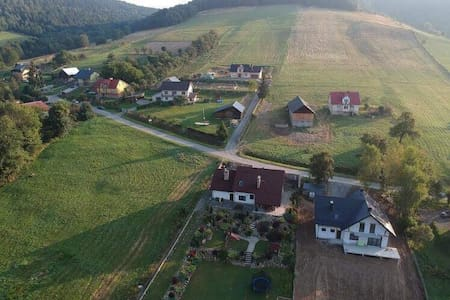 House on a hill in Bieszczady,Poland(Agroturistic)