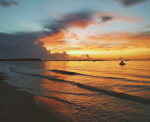 100m dalla spiaggia