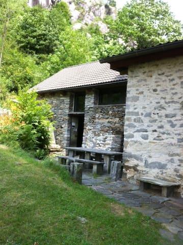 Rustico/casa/LeleTicino/Vallemaggia,Avegno/Torbecc - Gordevio - Pondok alam