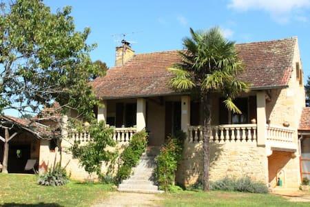 Maison à la campagne avec piscine - Haus