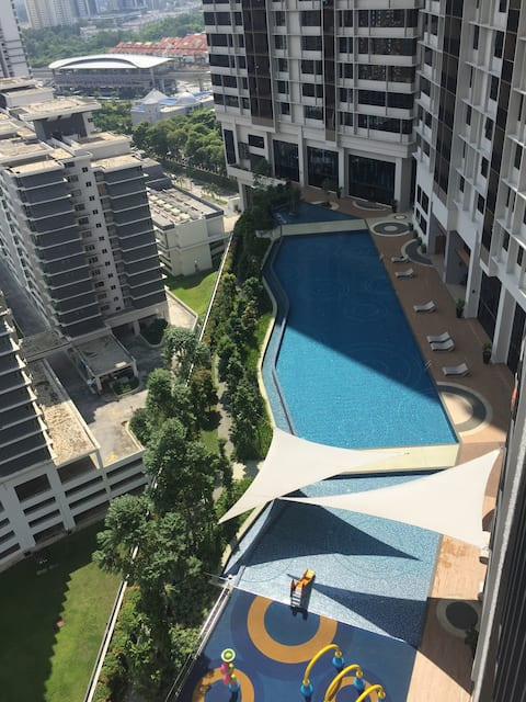 KL Single room at Bukit Jalil