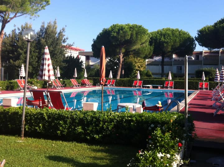 TOSCANA MARE - Bilocale in residence con piscina