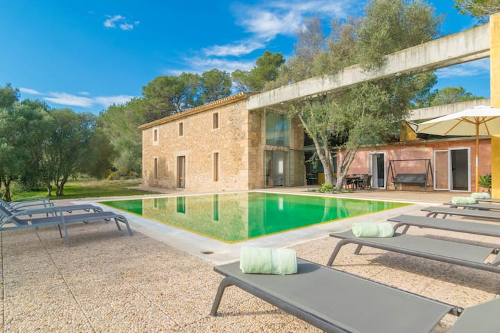 VITERBO - Spectacular villa with private pool and beautiful views of the coast and the sea beyond.