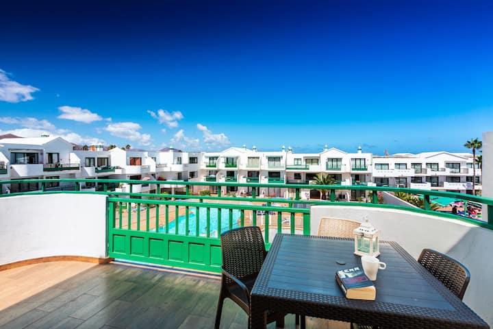 appartamento mare e piscina