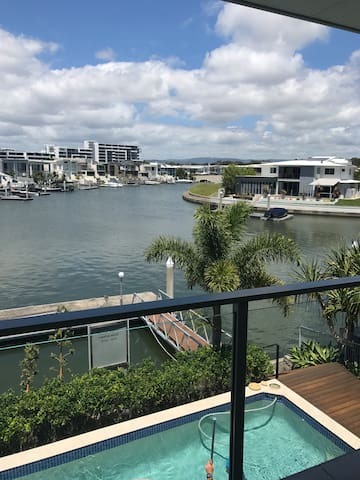 Luxury water front new house with enjoyable stay
