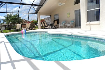 Pool Home - Gated Resort: Game Room, WIFI, Grill - Davenport - Maison