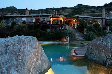 Aegean Island villa, near Athens  - Styra - Villa