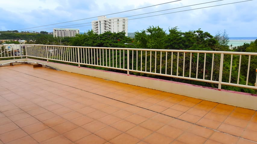 Spacious terrace area, perfect for relaxing