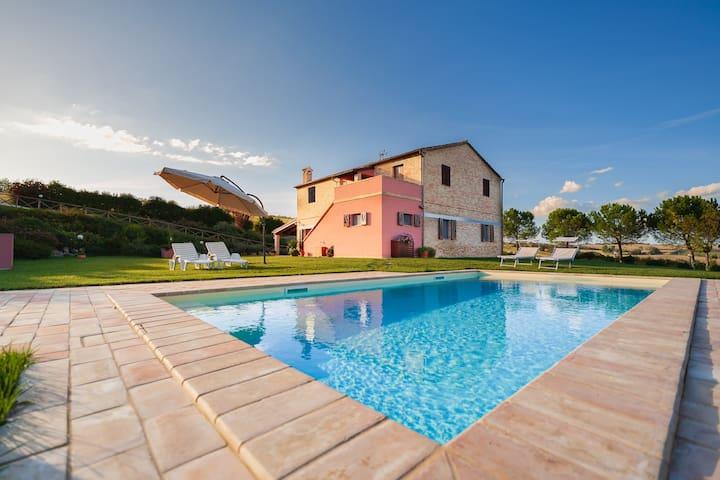 Casale Malatesta - Villa with swimming pool