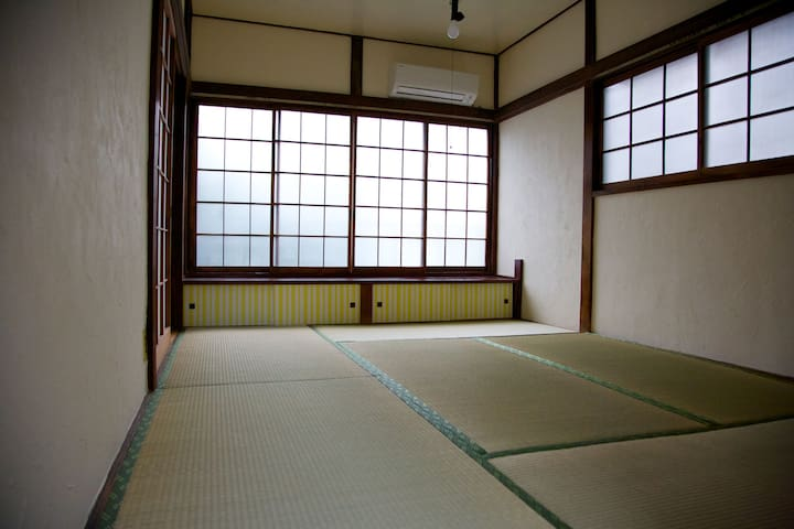 Tatami Room in second floor.