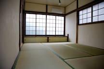 Tatami Room in second floor.