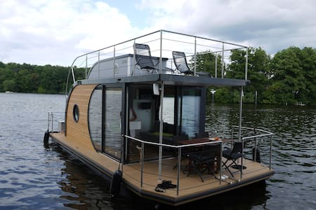 Design-Hausboot führerscheinfrei - Berlin
