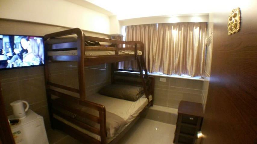 MK MTR:Family Hotel for 1~4 ppl Rm.55
