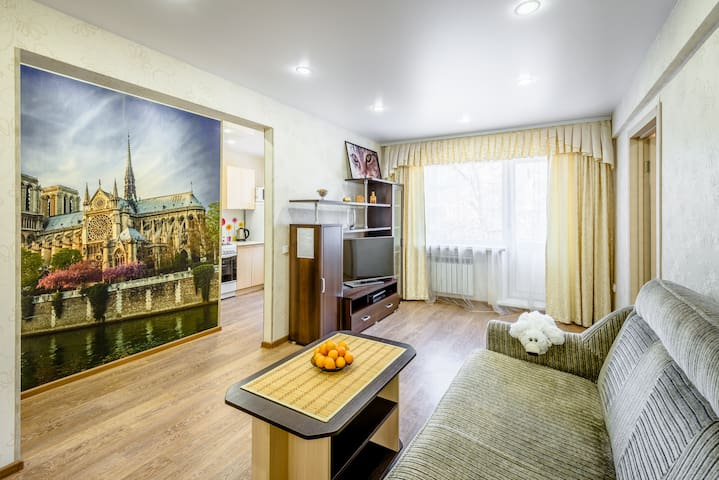 Сomfortable 2Room apartment for you - Иркутск - Daire