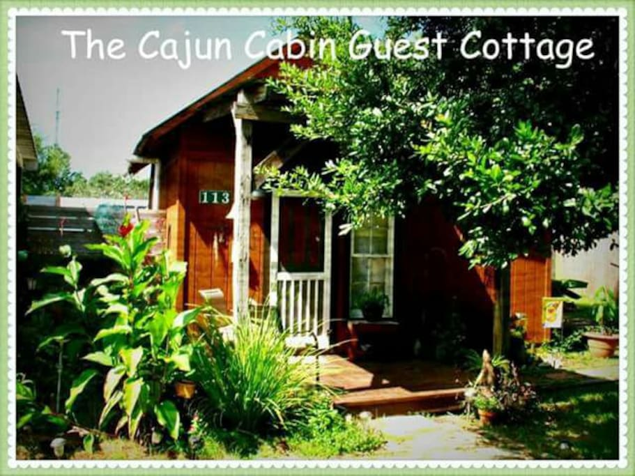 The Cajun Cabin Guest Cottage