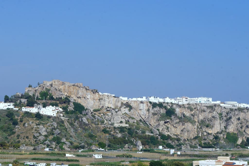 Castle of Salobreña - view from the terrace