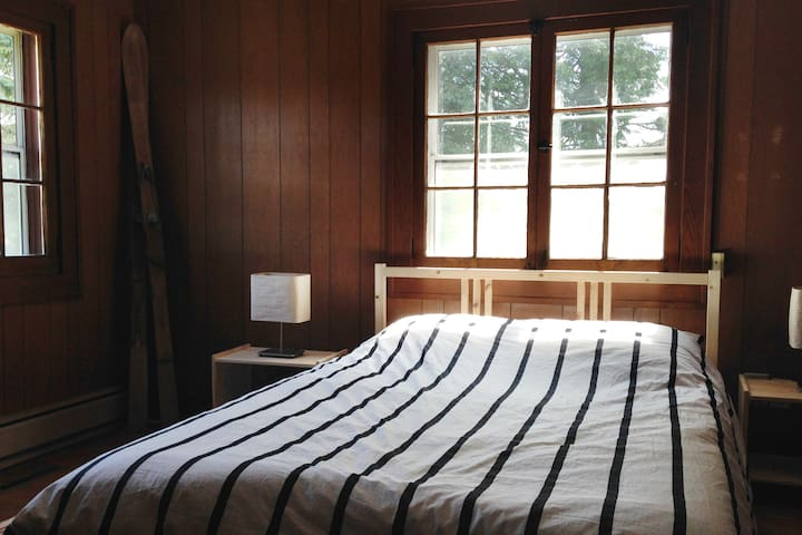 Bedroom #1 in the farmhouse.