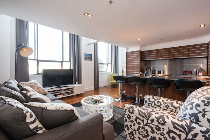 Large Executive Inner City Apartment