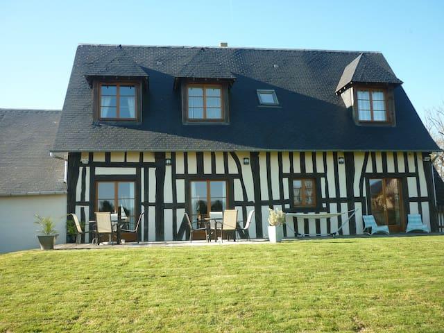 La grange d'isneauville (ch.verte) - Isneauville - Bed & Breakfast