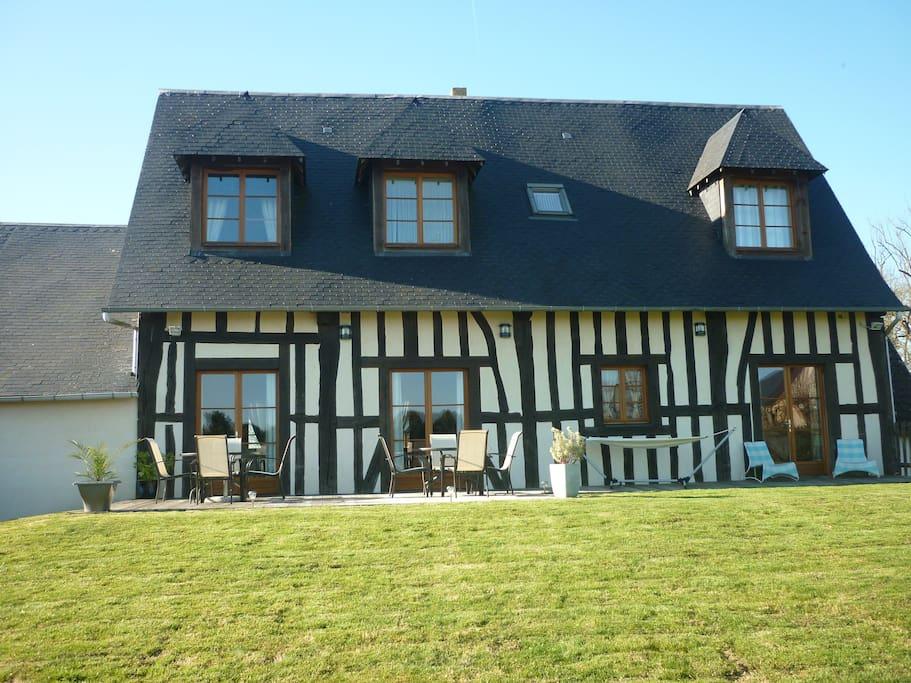 La grange d 39 isneauville chambres d 39 h tes - Chambre d hote haute normandie ...
