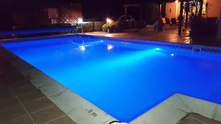 Luxurious 4 bed villa with large private pool.