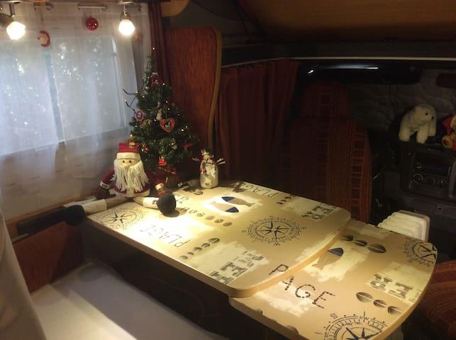 Logement atypique dans camping-car à Colmar