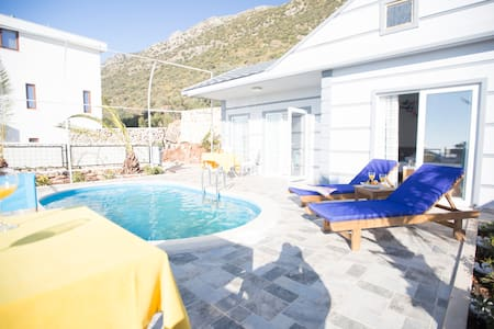 1 Bedroom,Jacuzzi,Sea View,Halal Villa - Kalkan Belediyesi - Villa