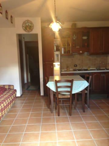 Alla casetta montana e giardino - Alfedena - Apartamento
