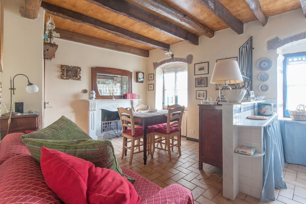 Casa vicino cinque terre cottage in affitto a tivegna for Piani di casa in stile cottage artigiano