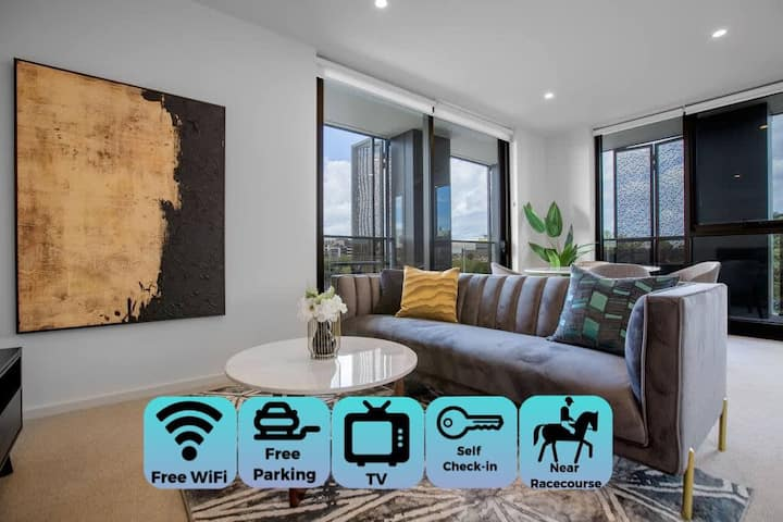 Designer 2BR with Carpark Monash Uni@Caulfield