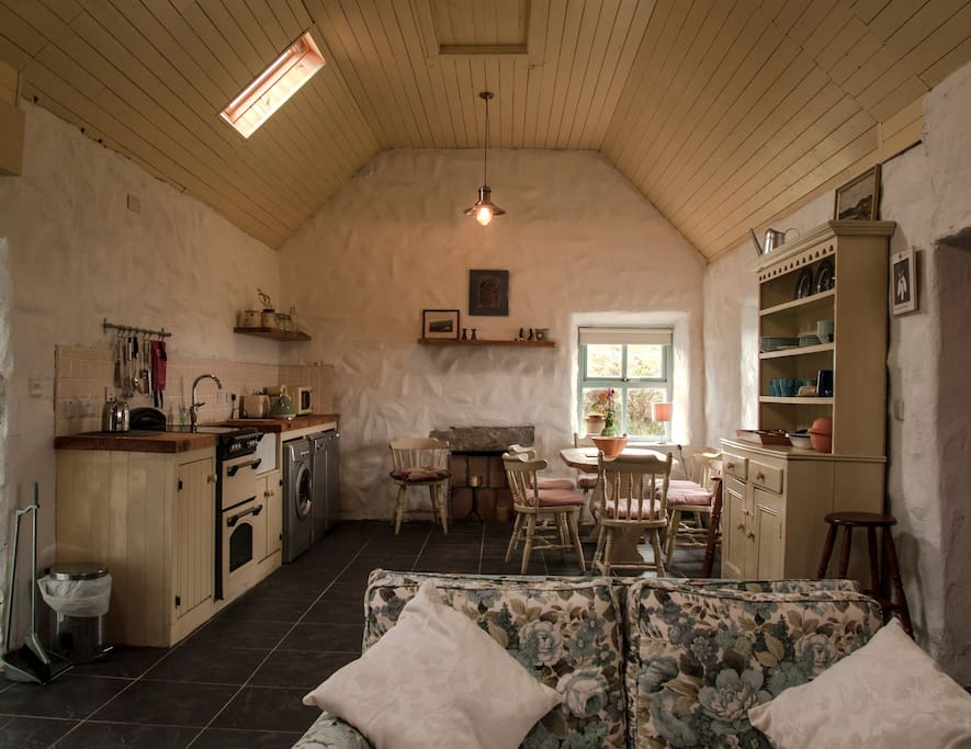 Traditional cottage decorated in authentic style