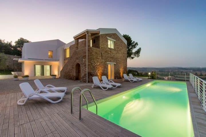 Villa Renzo appartamenti nel verde in Abruzzo