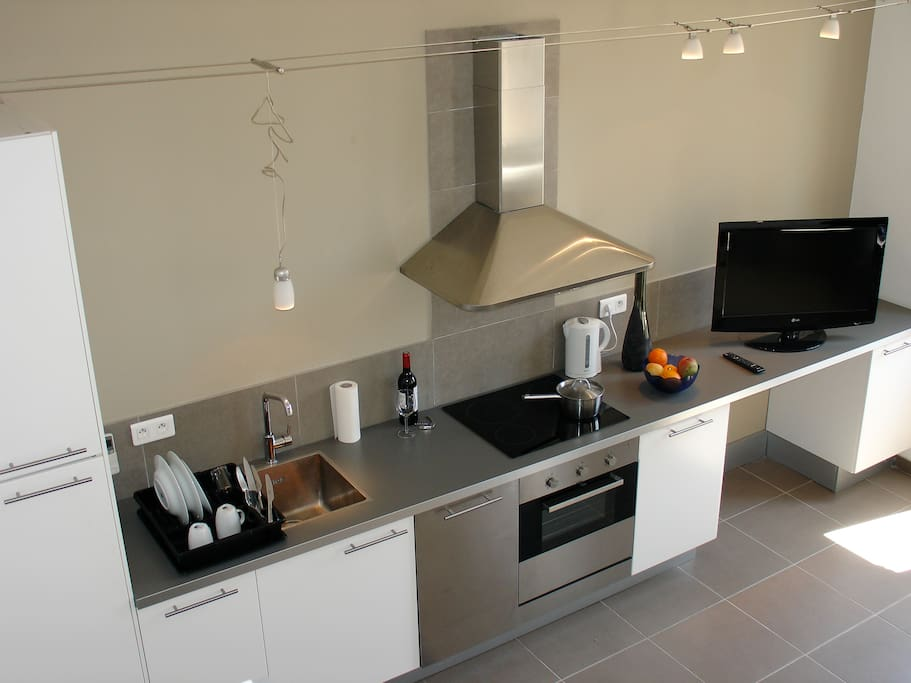 Kitchen, Cuisine moderne