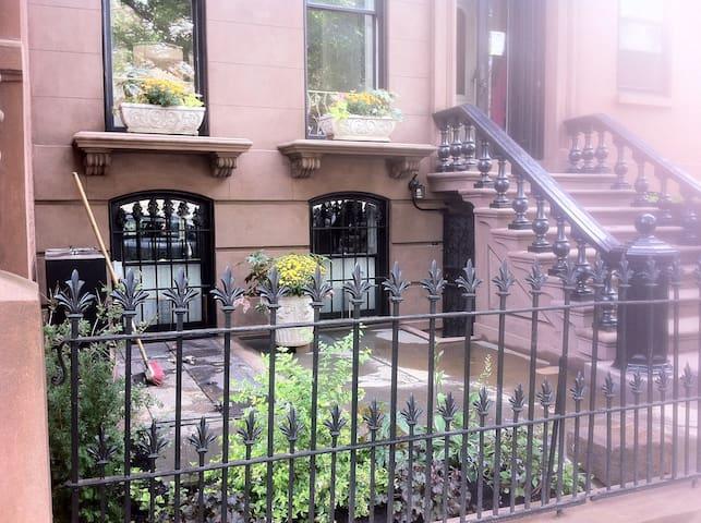 Garden apt. opposite historic Fort Greene Park