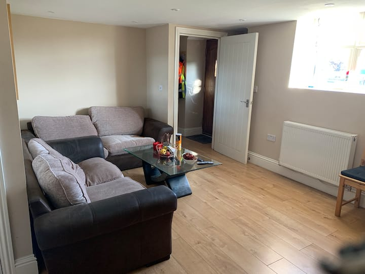 Double room in a two bedroom homely apartment.