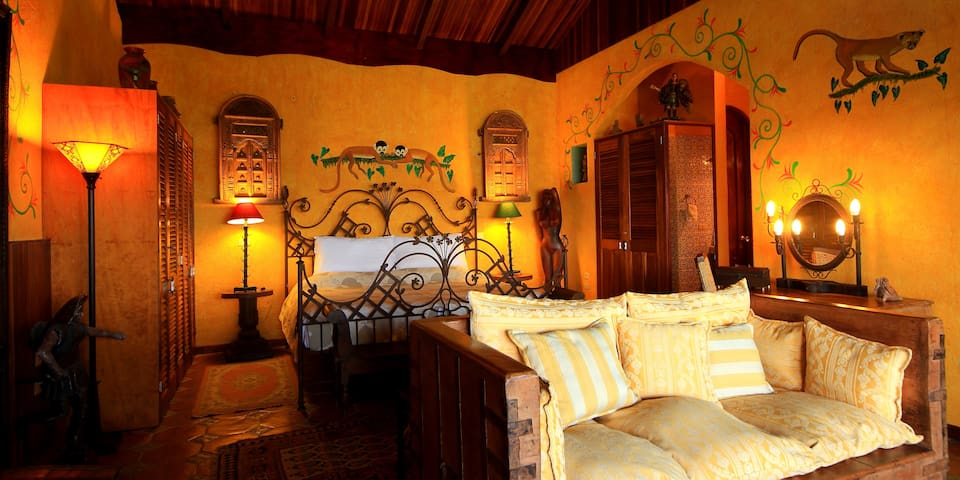 Luxury private villa on boutique hotel property