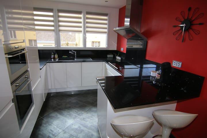 Appartement 70 m2 vue sur place wilson 4 pers - Dijon - Apartment