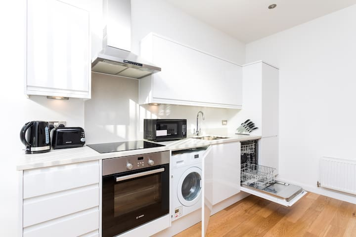 Your kitchen comes equipped with Oven, microwave, toaster, kettle, hob, dish washer, fridge freezer, and all the cooking equipment you could need to prepare a delicious home cooked meal.