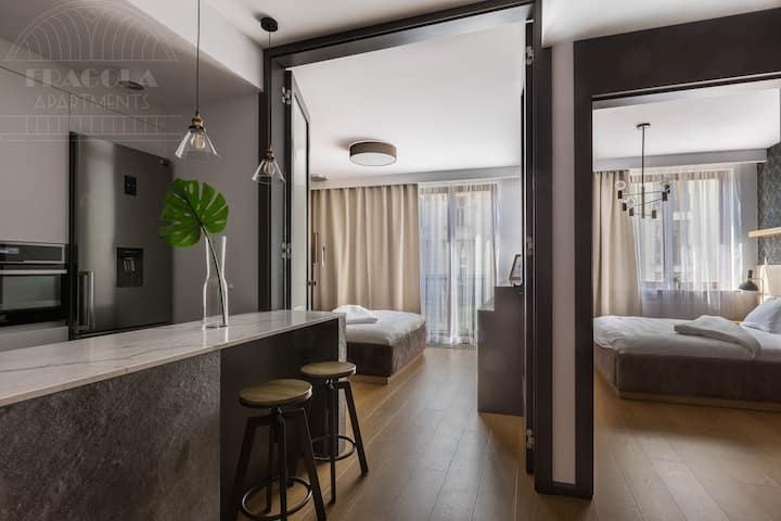Stylish Modern 2Bedroom 5min to Market Square
