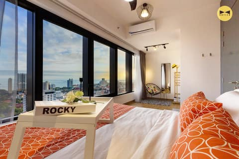 50%OFF【Sunrise】Seaview 1BR •FoodAround •CityCenter
