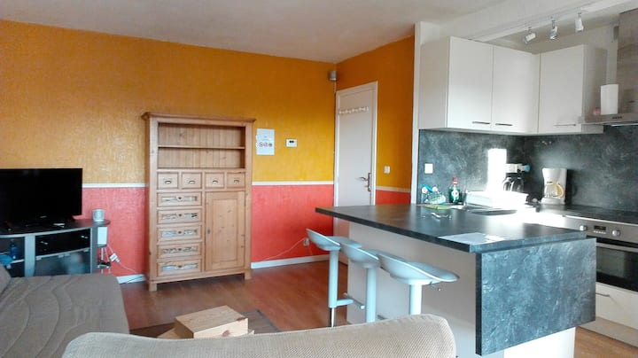 Appartement F2 (2 lits doubles/max 2 pers)