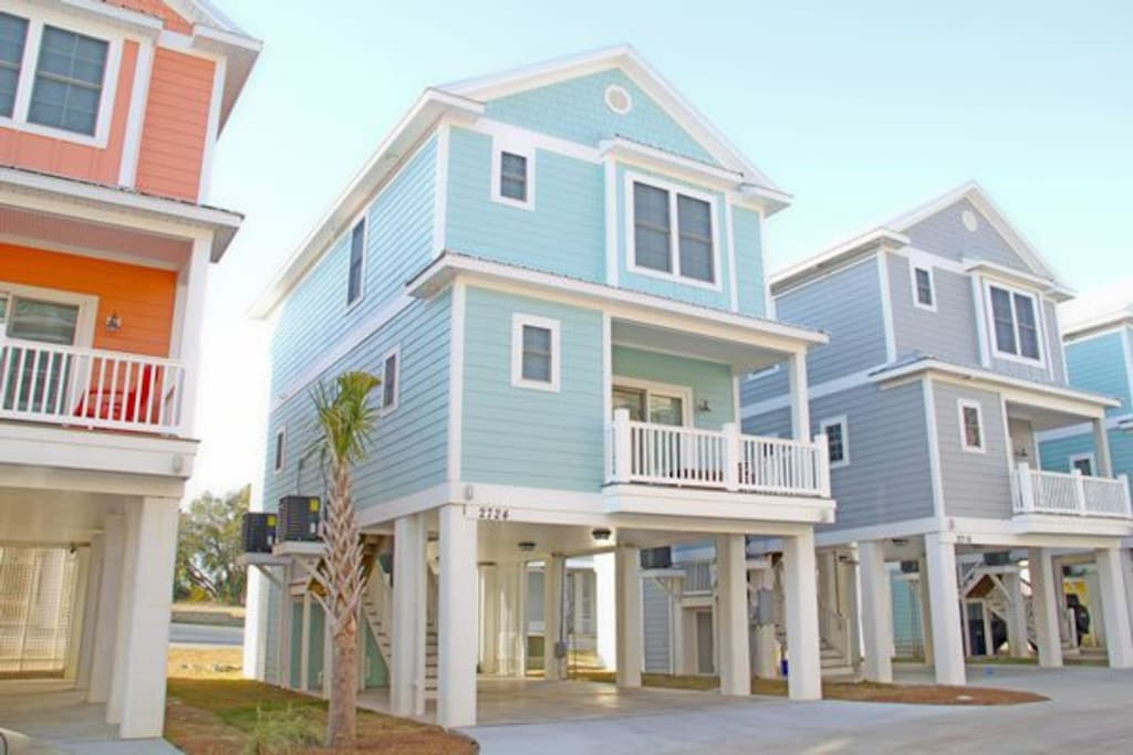 blue beach beauty houses for rent in myrtle beach south carolina united states