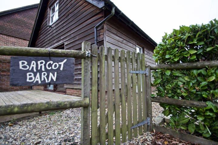 Barcot Barn - West Berkshire - Houten huisje
